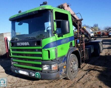Зелений Сканіа P, об'ємом двигуна 12 л та пробігом 900 тис. км за 13760 $, фото 1 на Automoto.ua