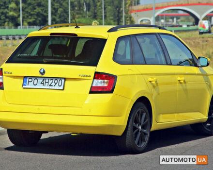 купить новое авто Шкода Фабиа Комби 2021 года от официального дилера Альянс-ИФ ŠKODA Шкода фото