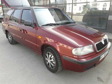 Красный Шкода Фелиция, объемом двигателя 1.3 л и пробегом 211 тыс. км за 2800 $, фото 1 на Automoto.ua