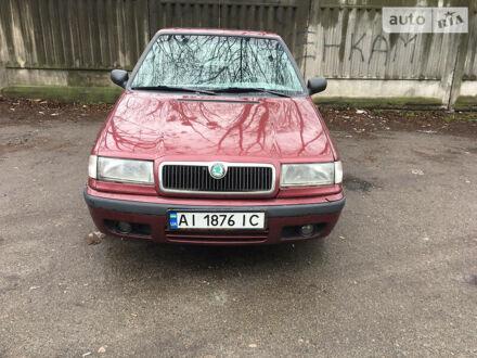 Красный Шкода Фелиция, объемом двигателя 1.6 л и пробегом 294 тыс. км за 3000 $, фото 1 на Automoto.ua
