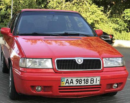 Красный Шкода Фелиция, объемом двигателя 1.6 л и пробегом 418 тыс. км за 2700 $, фото 1 на Automoto.ua