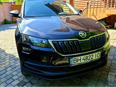 Черный Шкода Karoq, объемом двигателя 1.5 л и пробегом 38 тыс. км за 23000 $, фото 1 на Automoto.ua
