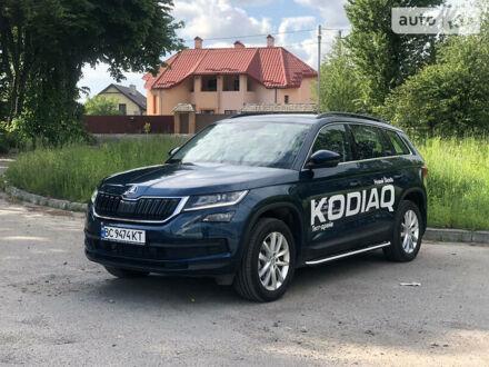 Синий Шкода Kodiaq, объемом двигателя 2 л и пробегом 4 тыс. км за 37200 $, фото 1 на Automoto.ua
