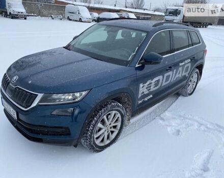 Синий Шкода Kodiaq, объемом двигателя 2 л и пробегом 11 тыс. км за 36900 $, фото 1 на Automoto.ua