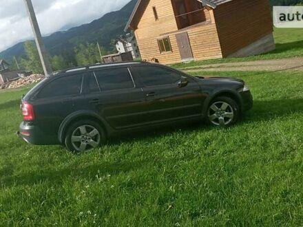 Чорний Шкода Octavia Scout, об'ємом двигуна 2 л та пробігом 220 тис. км за 8399 $, фото 1 на Automoto.ua