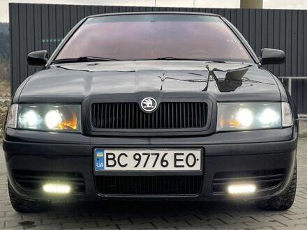 Черный Шкода Октавия, объемом двигателя 1.8 л и пробегом 299 тыс. км за 6600 $, фото 1 на Automoto.ua