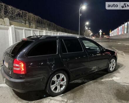 Черный Шкода Октавия, объемом двигателя 1.8 л и пробегом 174 тыс. км за 8000 $, фото 1 на Automoto.ua
