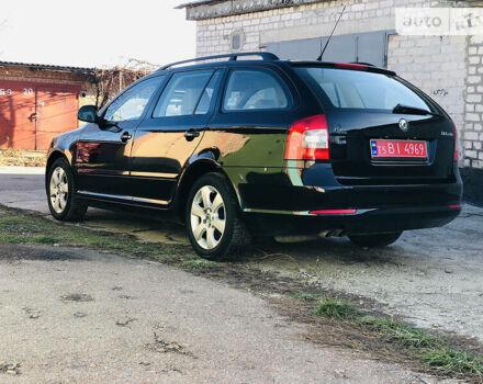 Черный Шкода Октавия, объемом двигателя 1.4 л и пробегом 148 тыс. км за 7999 $, фото 1 на Automoto.ua