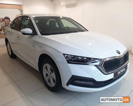 купити нове авто Шкода Октавія 2021 року від офіційного дилера Альянс-ІФ ŠKODA Шкода фото