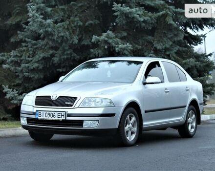 Серый Шкода Октавия, объемом двигателя 2 л и пробегом 210 тыс. км за 7500 $, фото 1 на Automoto.ua
