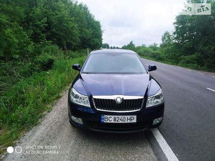 Синий Шкода Октавия, объемом двигателя 1.6 л и пробегом 232 тыс. км за 8999 $, фото 1 на Automoto.ua