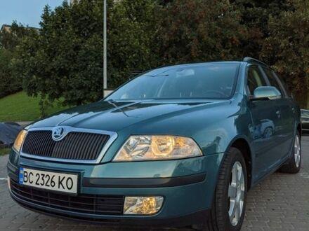 Зеленый Шкода Октавия, объемом двигателя 1.6 л и пробегом 189 тыс. км за 6999 $, фото 1 на Automoto.ua