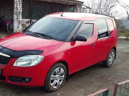Красный Шкода Практик, объемом двигателя 1.4 л и пробегом 290 тыс. км за 5500 $, фото 1 на Automoto.ua