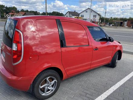 Красный Шкода Практик, объемом двигателя 1.2 л и пробегом 167 тыс. км за 3500 $, фото 1 на Automoto.ua