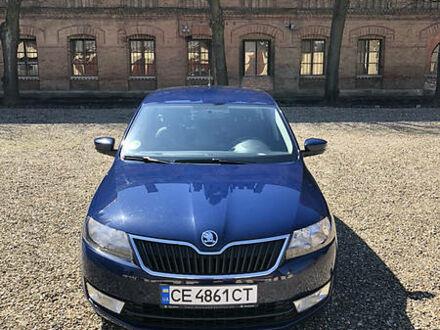 Синій Шкода Рапід, об'ємом двигуна 1.4 л та пробігом 144 тис. км за 10500 $, фото 1 на Automoto.ua