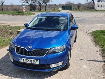 Синий Шкода Рапид, объемом двигателя 1.2 л и пробегом 59 тыс. км за 10800 $, фото 1 на Automoto.ua