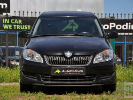 Черный Шкода Румстер, объемом двигателя 1.2 л и пробегом 226 тыс. км за 6700 $, фото 1 на Automoto.ua