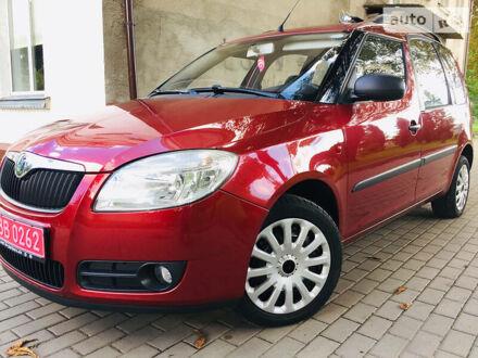 Красный Шкода Румстер, объемом двигателя 1.4 л и пробегом 197 тыс. км за 4850 $, фото 1 на Automoto.ua