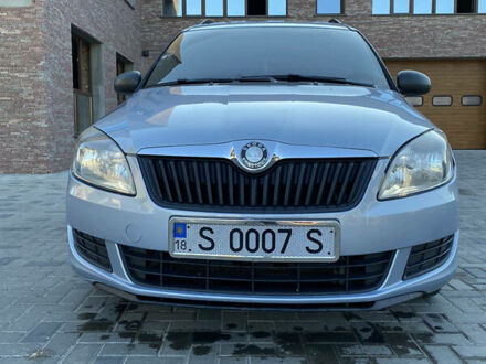 Синий Шкода Румстер, объемом двигателя 1.2 л и пробегом 199 тыс. км за 5100 $, фото 1 на Automoto.ua