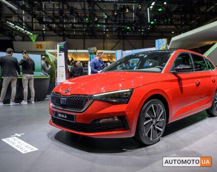 купити нове авто Шкода Scala 2021 року від офіційного дилера Альянс-ІФ ŠKODA Шкода фото
