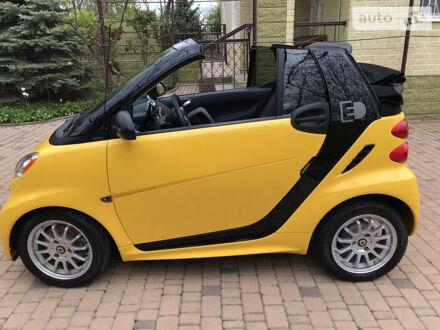 Жовтий Смарт EQ Fortwo, об'ємом двигуна 0 л та пробігом 88 тис. км за 7700 $, фото 1 на Automoto.ua