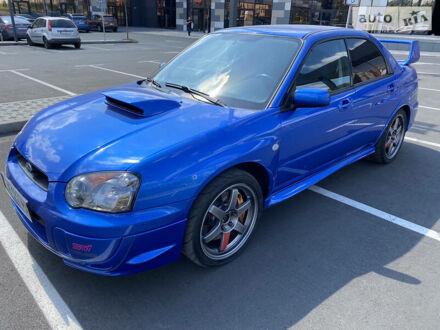 Синій Субару Імпреза  ВРХ СТІ, об'ємом двигуна 2.2 л та пробігом 187 тис. км за 13000 $, фото 1 на Automoto.ua
