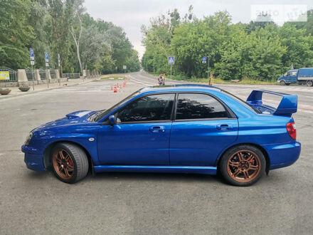 Синій Субару Імпреза  ВРХ СТІ, об'ємом двигуна 2 л та пробігом 182 тис. км за 8000 $, фото 1 на Automoto.ua