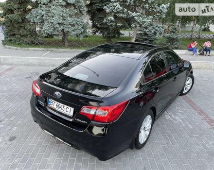 Черный Субару Легаси, объемом двигателя 2.5 л и пробегом 130 тыс. км за 14499 $, фото 10 на Automoto.ua