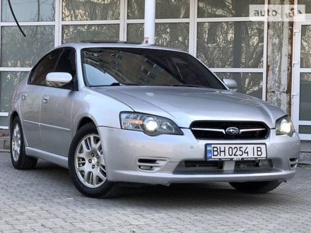Серый Субару Легаси, объемом двигателя 2 л и пробегом 187 тыс. км за 5800 $, фото 1 на Automoto.ua