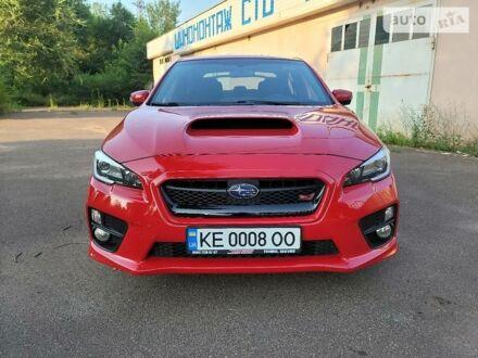 Красный Субару WRX STI, объемом двигателя 2.5 л и пробегом 78 тыс. км за 21500 $, фото 1 на Automoto.ua