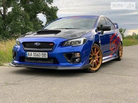 Синий Субару WRX STI, объемом двигателя 2.5 л и пробегом 48 тыс. км за 40000 $, фото 1 на Automoto.ua