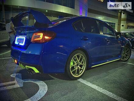 Синий Субару WRX STI, объемом двигателя 2.5 л и пробегом 49 тыс. км за 27200 $, фото 1 на Automoto.ua