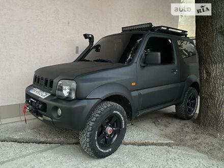 Черный Сузуки Джимни, объемом двигателя 1.3 л и пробегом 160 тыс. км за 12500 $, фото 1 на Automoto.ua