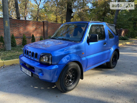 Синій Сузукі Джімні, об'ємом двигуна 1.3 л та пробігом 112 тис. км за 8000 $, фото 1 на Automoto.ua