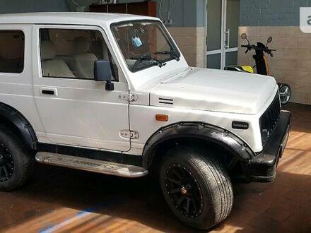 Білий Сузукі Самурай, об'ємом двигуна 1.5 л та пробігом 100 тис. км за 4500 $, фото 1 на Automoto.ua