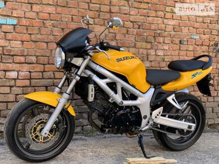 Оранжевый Сузуки SV 650, объемом двигателя 0.65 л и пробегом 23 тыс. км за 2700 $, фото 1 на Automoto.ua