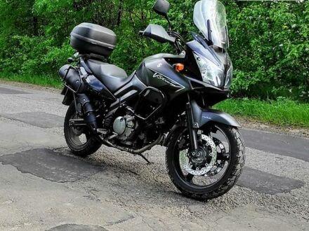 Черный Сузуки V-Strom 650, объемом двигателя 0.65 л и пробегом 62 тыс. км за 5000 $, фото 1 на Automoto.ua