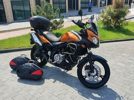 Оранжевый Сузуки V-Strom 650, объемом двигателя 0.65 л и пробегом 46 тыс. км за 6490 $, фото 1 на Automoto.ua