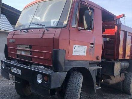 Красный Татра 815, объемом двигателя 1.58 л и пробегом 14 тыс. км за 13500 $, фото 1 на Automoto.ua