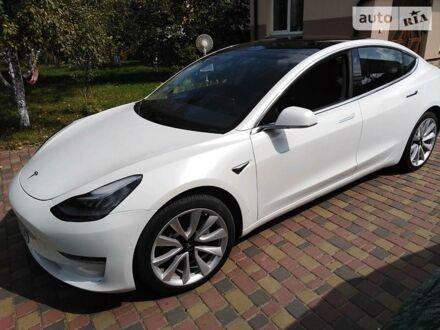 Белый Тесла Модель 3, объемом двигателя 0 л и пробегом 13 тыс. км за 38000 $, фото 1 на Automoto.ua