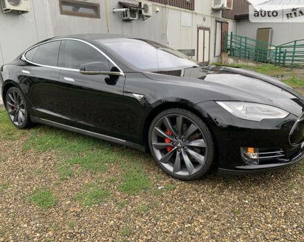 Чорний Тесла Модель С, об'ємом двигуна 0 л та пробігом 135 тис. км за 37000 $, фото 1 на Automoto.ua