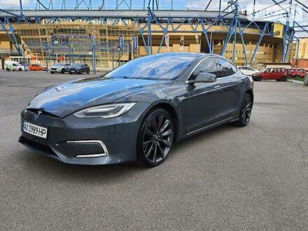 Сірий Тесла Модель С, об'ємом двигуна 0 л та пробігом 61 тис. км за 32000 $, фото 1 на Automoto.ua