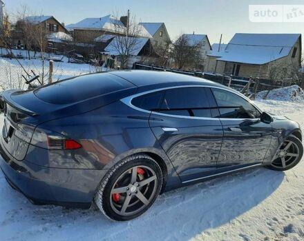 Сірий Тесла Модель С, об'ємом двигуна 0 л та пробігом 97 тис. км за 31550 $, фото 1 на Automoto.ua