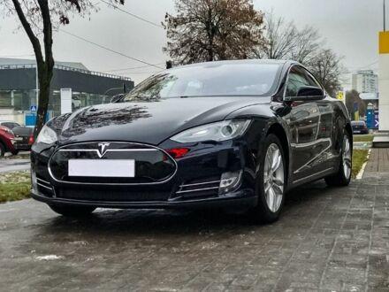 Синій Тесла Модель С, об'ємом двигуна 0.09 л та пробігом 49 тис. км за 28999 $, фото 1 на Automoto.ua