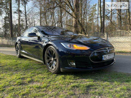 Синій Тесла Модель С, об'ємом двигуна 0 л та пробігом 180 тис. км за 33000 $, фото 1 на Automoto.ua