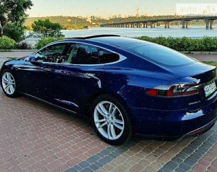Синій Тесла Модель С, об'ємом двигуна 0 л та пробігом 120 тис. км за 33800 $, фото 1 на Automoto.ua