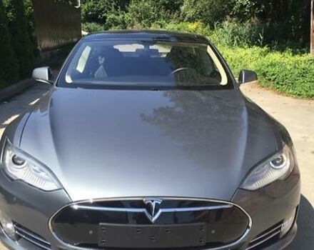 Сірий Тесла Модель С, об'ємом двигуна 0 л та пробігом 24 тис. км за 51500 $, фото 1 на Automoto.ua