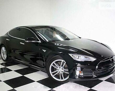 Черный Тесла Модель С, объемом двигателя 0 л и пробегом 43 тыс. км за 58000 $, фото 1 на Automoto.ua