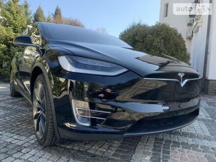 Чорний Тесла Модель Х, об'ємом двигуна 0 л та пробігом 75 тис. км за 51000 $, фото 1 на Automoto.ua