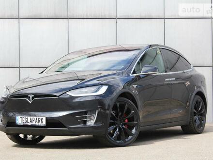 Чорний Тесла Модель Х, об'ємом двигуна 0 л та пробігом 70 тис. км за 75900 $, фото 1 на Automoto.ua
